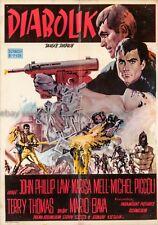 Danger: Diabolik John Philip Law 1968 Yugoslavian poster