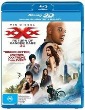 XXX - Return Of Xander Cage 3D : NEW 3-D Blu-Ray