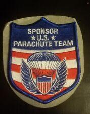 2012 US Parachute Team Sponsor Pocket  Patch (Blue)