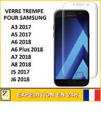Vitre verre trempé SAMSUNG Galaxy A3 A5 A6 A7 A8 J5 J6 Plus 2017 2018 DESTOCKAGE