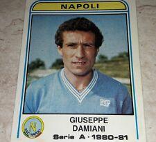 FIGURINA CALCIATORI PANINI 1980/81 NAPOLI DAMIANI N° 220 ALBUM 1981