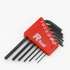 7pcs/set 0.71mm - 3mm Mini Hex Screwdriver Hexagon Allen Wrench Tool 7 Sizes
