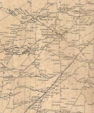 Wilton Northumberland Gansevoort NY 1866 Maps with Homeowners Names Shown