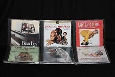 Classic Movie Original Soundtrack Lot of 6 CDs Doctor Zhivago The Music Man