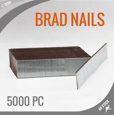 5000 PC F30 Brad Nails 30mm Air Brad Nails Gun Flooring Cornice Carpentry Carpet