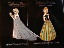 Disney Pin Elsa And Anna From the movie Frozen Set of 2 Pins