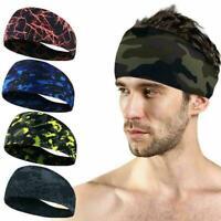 Unisex Sport Stirnband Schweißband Yoga Haarband Anti Haarschmuck Schweiß U7K7
