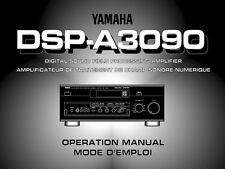 Yamaha DSP-A3090 Amplifier Owners Manual