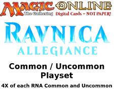 MTGO Magic Online RNA Ravnica Allegiance Playset 764 Cards 4x Common/Uncommon