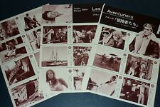 ALAIN DELON JOANNA SHIMKUS Les Aventuriers 1967 JPN Clipping 3-SHEETS(4pgs) lh/v
