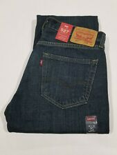 LEVI'S 527 MEN'S SLIM BOOT JEANS Blue w 32 l 32 new with tags