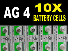 AG4 377 Nurse Fob Watch Batteries Coin Cells Button Batteries Alkaline B4