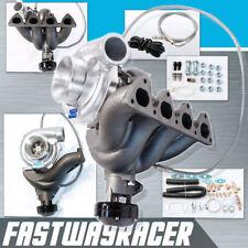 EF EG EK D15 D16 D16A D16Y T3/T4 T3/60-1 T3 Turbo Charger Kit Top Mount Manifold
