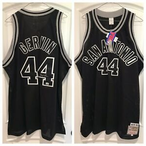 """George """"Ice Man"""" Gervin Signed Spurs Authentic Jersey (Fanatics)"""