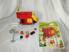 Lego Fabuland 3662 Double decker bus with Hanna Hippo + Mike the Monkey
