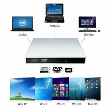 USB External DVD-R Combo CD-RW CD-R Burner Optical Drive for Windows10 XP MAC OS