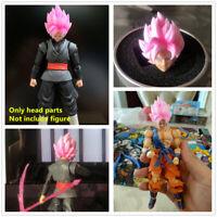 Dragon Ball Super Saiyan Rose head (no body) for Bandai SHF Zamasu Goku Black