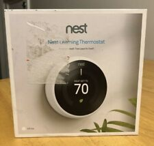 Nest Google Google T3017US Learning Thermostat (3rd Generation, White)