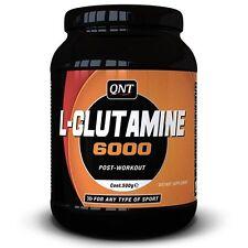 QNT L-Glutamine 6000 pura crescita muscolare e rifornimento di miscelazione in polvere - 500g VASCA