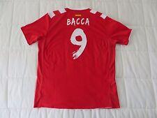 Carlos Bacca (Colombia) Sevilla 2013-14 jersey / genuine / felt nameset
