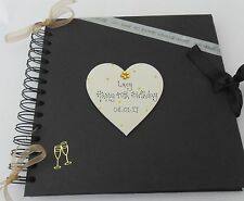 Personalised 40th 30th 21st 18th any  Birthday  Photo album scrapbook gift
