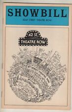 """Sunday In The Park With George""  Pre-Broadway Playbill 1983  Peters, Patinkin"