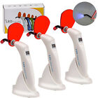 1-3Pack Dental LED Curing Light Wireless Cordless Resin Cure Lamp 1200-1500mW/cm