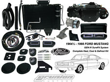 Ford Mustang 1964½ 1965 1966 Air Conditioning Heat Defrost Vintage Air Kit