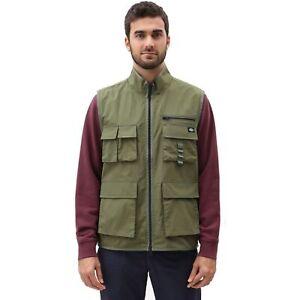 Dickies Stillmore Weste Army Green (AGR) Herren Anglerweste Truckerweste Vest