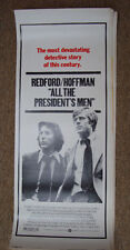 ALL THE PRESIDENTS MEN- Redford (1976) 14x36 poster