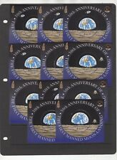 First Man on the Moon, British Colonies Common design, 11 stamps   (6223