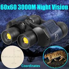 60X 6 0HD Optica Jumelles Télescope Monoculaire 3000M Chasse Vision Nocturne