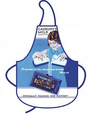 NEW Kitchen Apron Cadburys Milk Chocolate Cadbury Retro Nostalgic Cooking