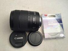 New ListingCanon Ef-S 18-135mm f/3.5-5.6 Is Usm Lens + Cpl filter