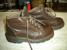 Kids Dr Martens Brown Leather Ankle Boots 4