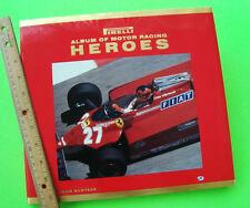 PIRELLI ALBUM OF MOTOR RACING HEROS by John Surtees H-C + DJ - PHOTOGRAPHS Mint