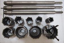 9 masonry concrete core Drill Bits HEX for hammer drilling