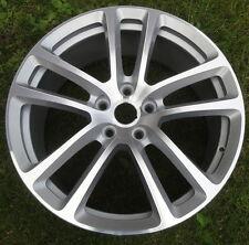 "Set 4 BRAND NEW 19"" GENUINE Aston Martin DB9 silver 10-spoke FORGED alloy wheels"