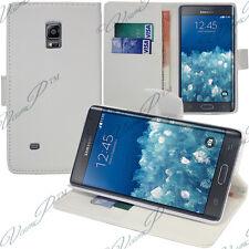 Etui Coque Housse Portefeuille Video BLANC Samsung Galaxy Note Edge SM-N915FY