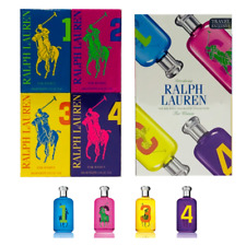 Ralph Lauren Polo Big Pony Fragrance Collection Gift Set Women EDT ( 4 x 15 ml )