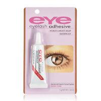 Dark Black Clear Waterproof False Eyelashes Makeup Adhesive Eye Lash Glue New