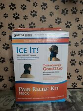 Battle Creek Neck Pain Kit with Moist Heat and Cold Therapy New