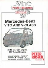 Pocket Mechanic for Mercedes-Benz Vito and V-class CDI Models, 2000 to 2003...