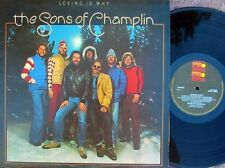 Sons Of Champlin ORIG UK LP Loving is why '77 EX Ariola Folk Rock Blue eyed Soul