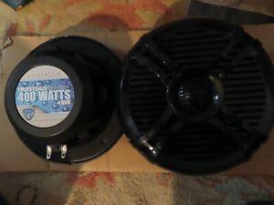 """Rockville RMST65W 6.5"""" 2-Way 800 Watt Marine Boat Speakers~BLACK-NEW IN BOX"""