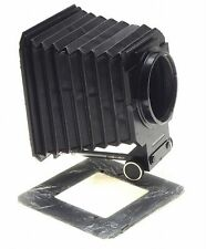 HASSELBLAD bellows compendium lens hood shade on rail with mask clean condition