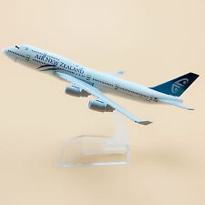 16cm Airplane Model Plane Air New Zealand Airline Boeing 747 B747 Aircraft Model