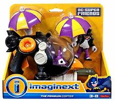 IMAGINEXT_DC SUPER FRIENDS Collection_The Penguin Copter with PENGUIN figure_MIP