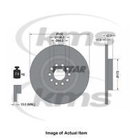 New Genuine TEXTAR Brake Disc 92221403 Top German Quality