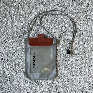 Simms Waterproof Electronics Pouch with Neck Strap